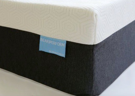 Bear mattress review - Celliant cover corner of bed