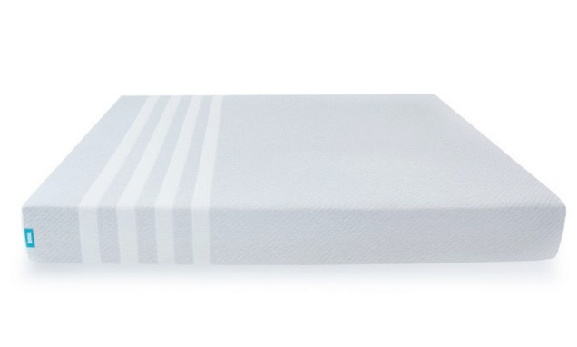Leesa mattress review - naked mattress white background