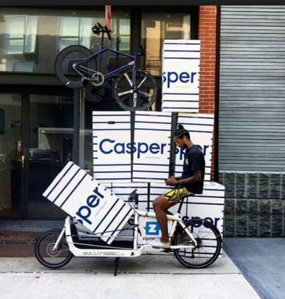 Leesa vs. Casper - Casper NYC delivery warehouse