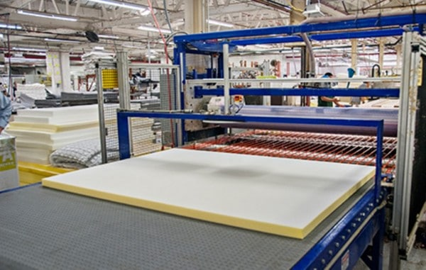 Helix mattress review - Chicago manufacturing facility