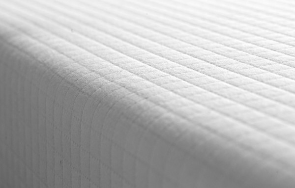 Helix mattress review - quilted white top cover