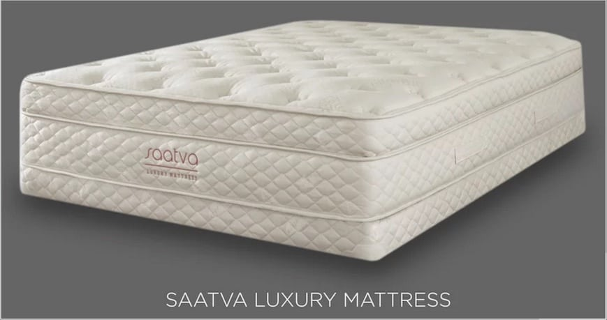 Saatva mattress for back pain - IN STUDIO