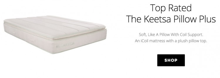 Keetsa Pillow Plus Shop now