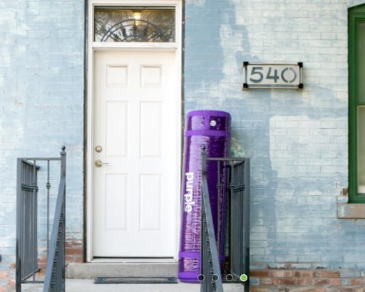 Purple Mattress - delivery
