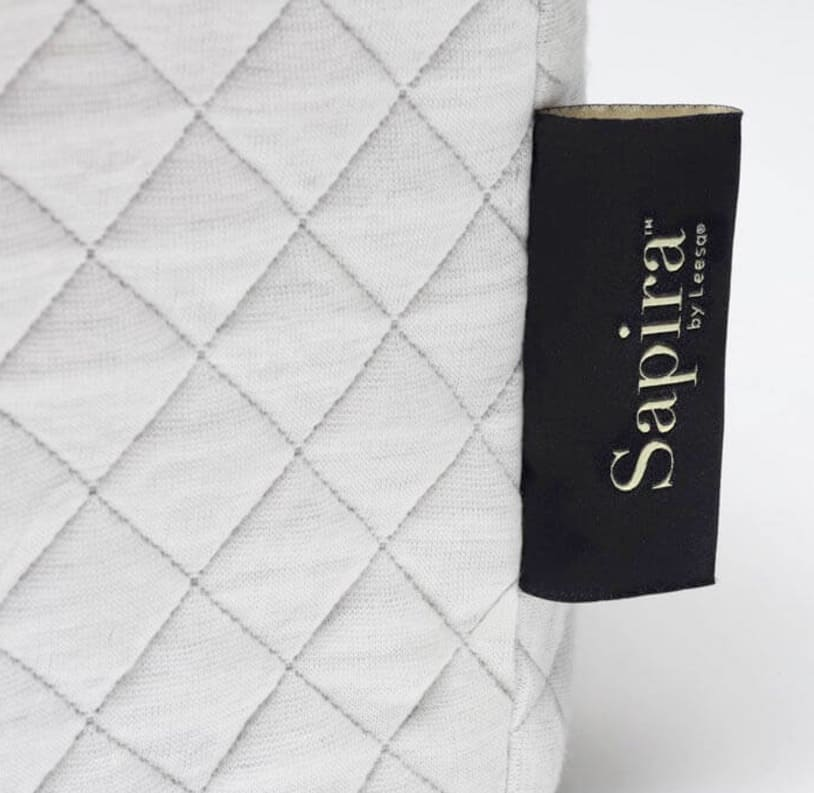 Sapira Mattress Review - cover with tag