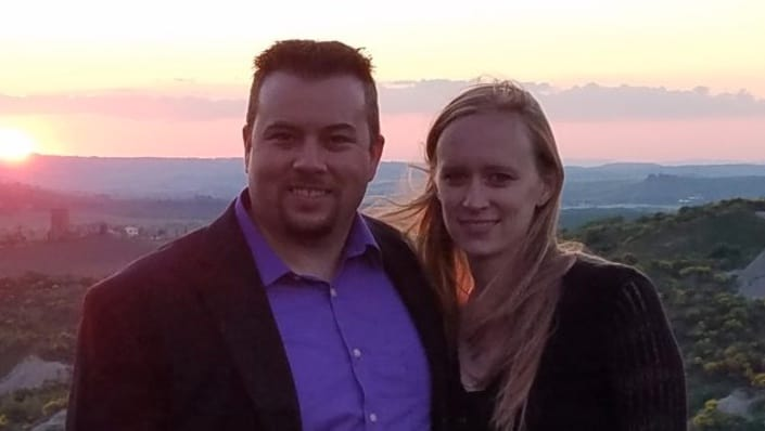 Amore founder Todd Summerville and his wife