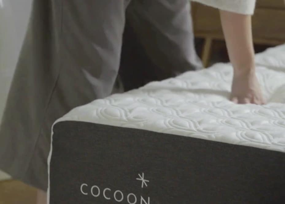 Cocoon mattress review - cover