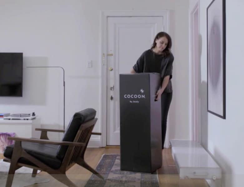 Cocoon mattress review - delivery