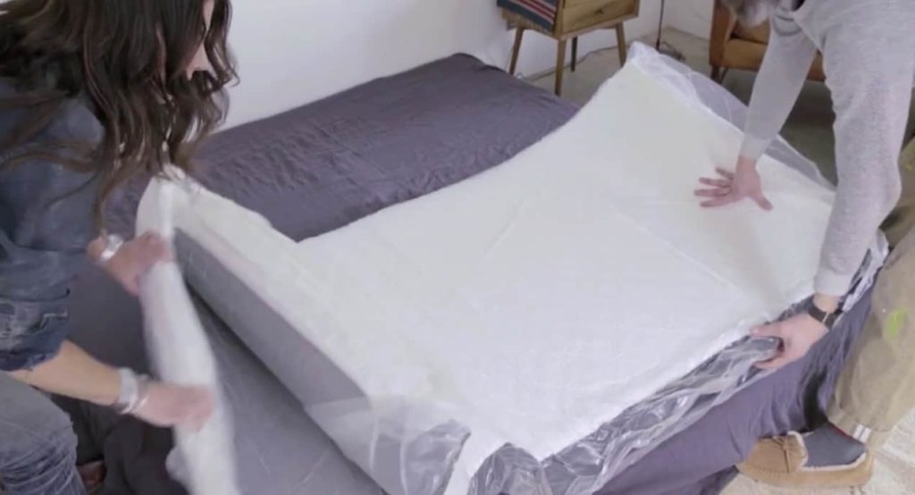 Cocoon mattress review - unboxing