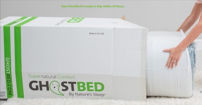 GhostBed mattress purchase process
