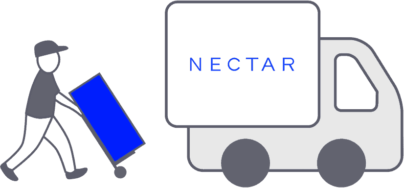 Nectar Sleep mattress review - delivery man