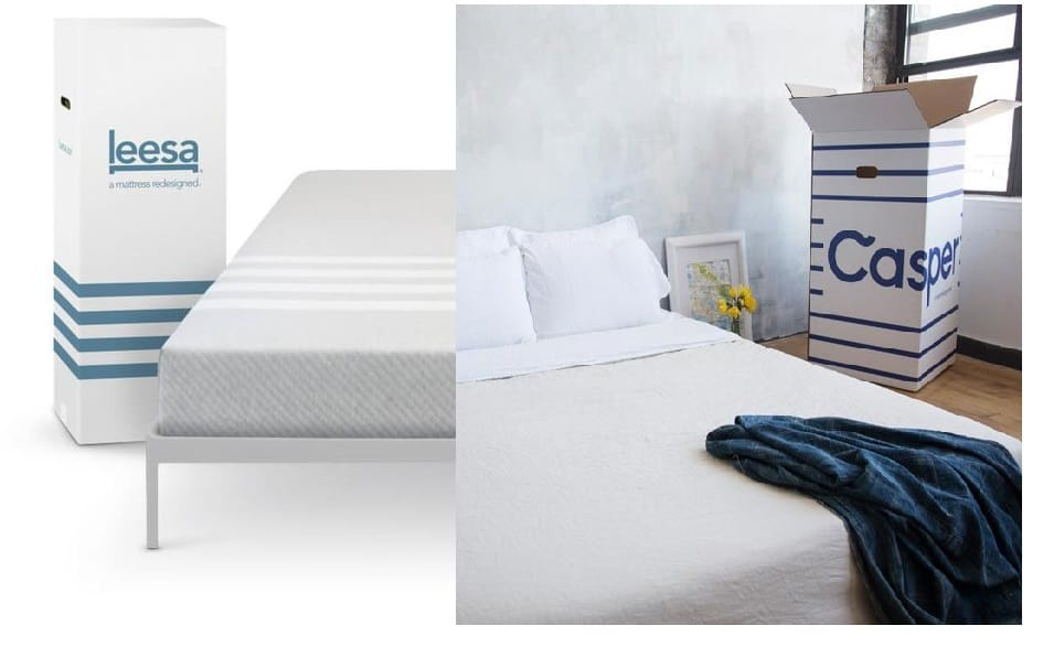 Casper vs leesa online leaders launch new products for Brooklyn bedding vs casper