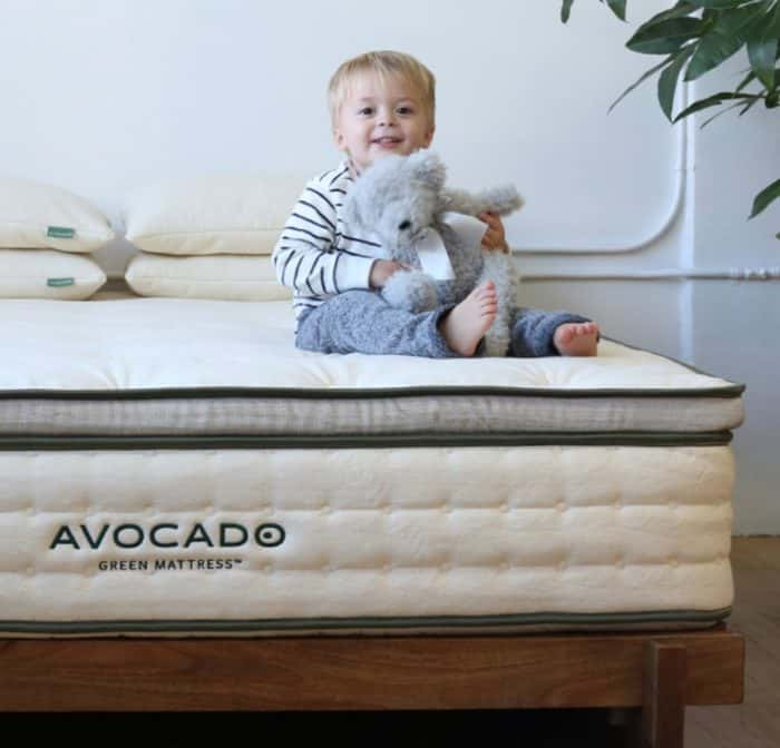 Avocado Green Mattress Review - safe and non toxic for kids