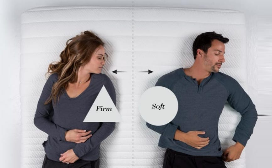 Luxi Mattress - split configuration