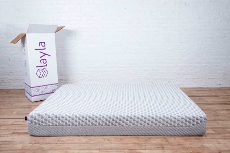 Layla mattress review - bed and box hero