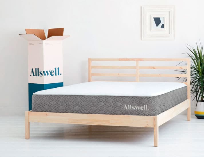 Allswell Luxe Hybrid mattress-review - styling