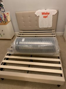 Layla mattress review - IN ROLL ON BED