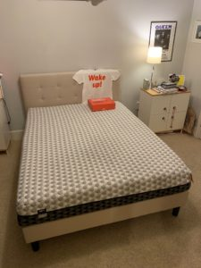 Layla mattress review - full view