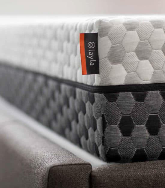 layla mattress review - two-sides