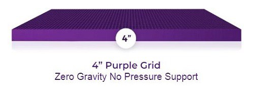 "4"" Purple Grid"