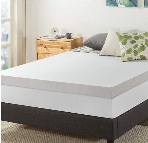 best mattress topper for back pain 2019 top picks for low cost relief. Black Bedroom Furniture Sets. Home Design Ideas