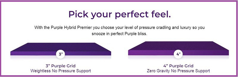 Purple Hybrid Premiere mattress
