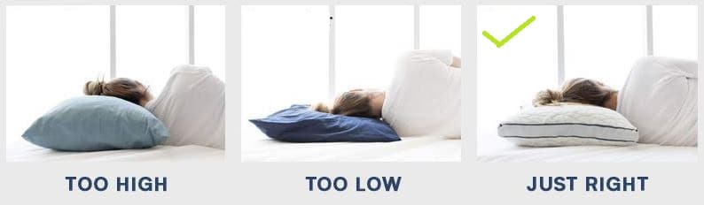 best pillow for stomach sleepers with neck pain