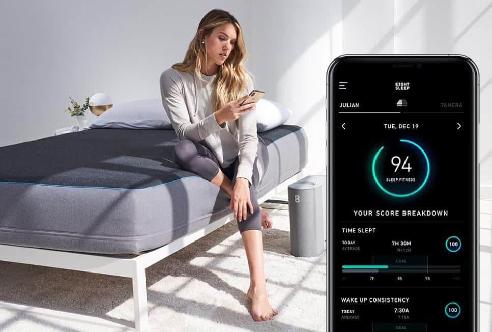 Eight sleep app