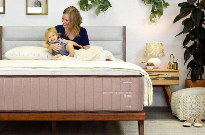 Nest Alexander Signature Series flippable mattress - hero shot