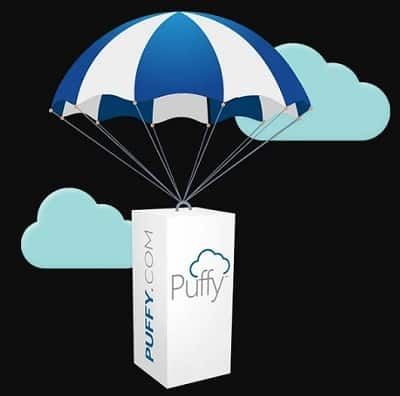 Puffy Delivery and Setup