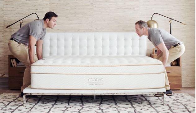 Saatva mattress delivery