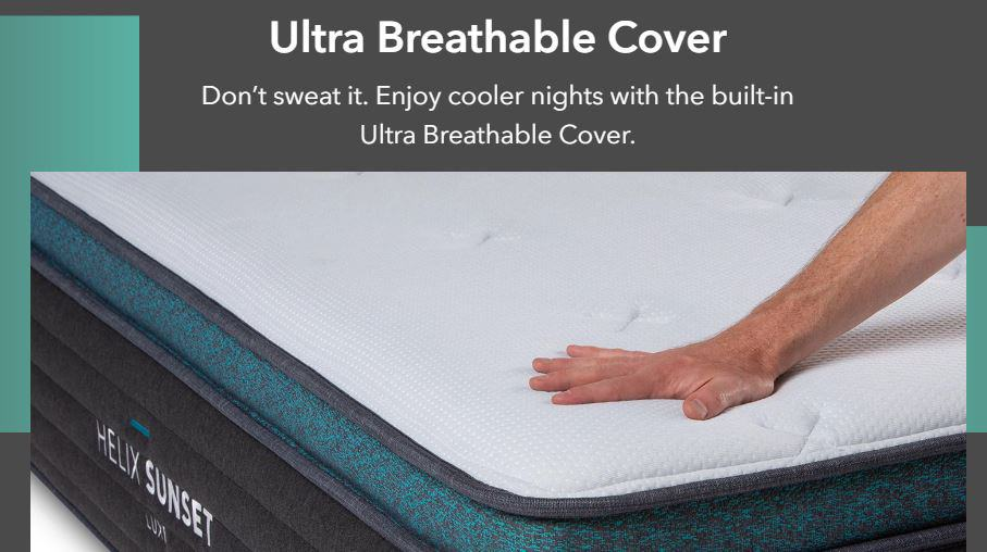Ultra breathable cover