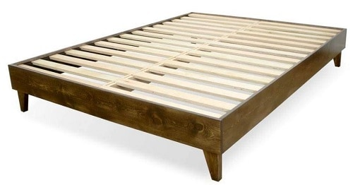 eLuxurySupply Wood Bed Frame