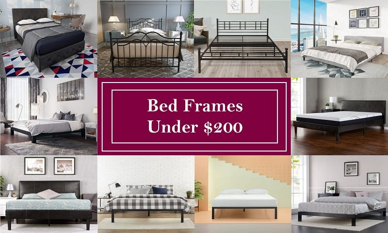 Best Bed Frames Under $200