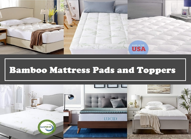 Best Bamboo Mattress Pads and Toppers