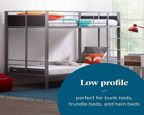 Twin mattress for bunk bed