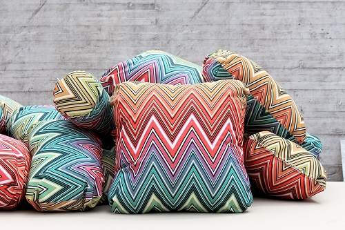 Striped Colorful Pillows