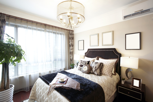 Bold and Beautiful White Bedroom