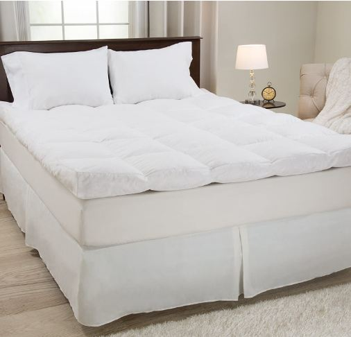 best featherbed topper